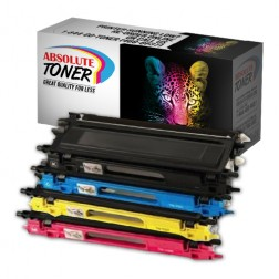 Compatible for Brother TN210 Toner Cartridges Package Set