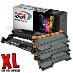 Compatible for Brother TN-450 Toner Cartridges Plus DR-420 Drum Cartridge Package