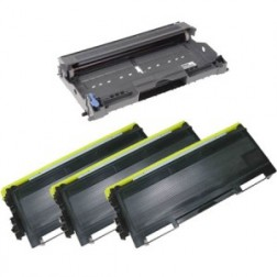 Compatible for Brother TN350 Toner Cartridges Plus DR350 Drum Cartridge Package