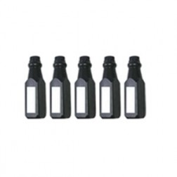 Toner Bottles Compatible for HP 501A & 502A  Package of 5