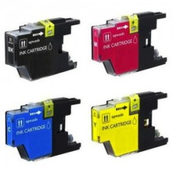 Compatible for Brother LC75 Ink Cartridges Combo Set (Brother LC-71 High Yield)